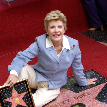 Patty Duke Gets Star On Walk Of Fame