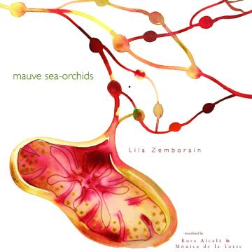 """Cover of Lila Zemborain's collection, """"Mauve Sea-Orchids."""""""