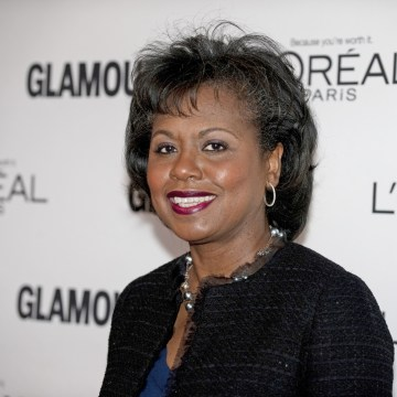 Anita Hill arrives at Glamour Magazine's