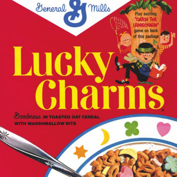 Image: Lucky Charms Cereal