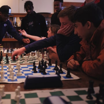 International Chess Grandmaster Maurice Ashley