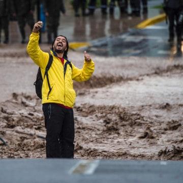 Image: CHILE-FLOOD