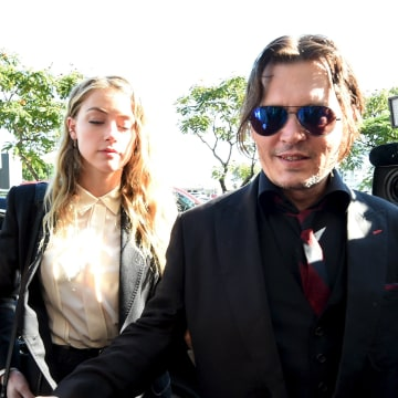 Image: Johnny Depp and Amber Heard