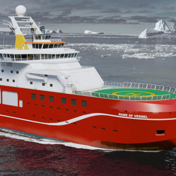 Image: BRITAIN-RESEARCH-SHIP-OFFBEAT