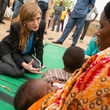 Image: Samantha Power in Cameroon