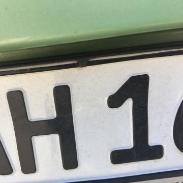 Image: German license plate