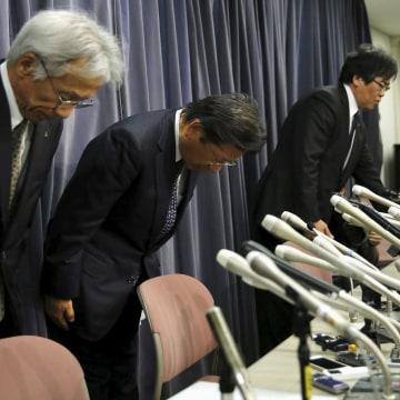 Image: Mitsubishi Motors Corp's President Tetsuro Aikawa