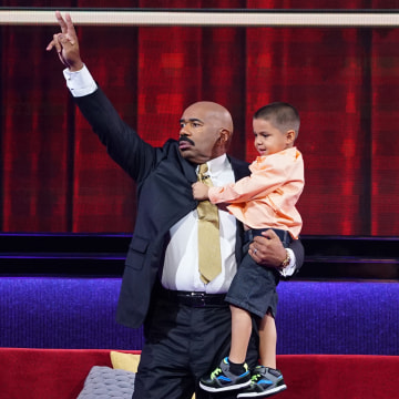 "Five-year-old Luis Esquivel Jr. went on NBC's ""Little Big Shots"" to demonstrate his extraordinary math skills."