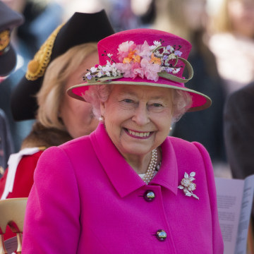 Image: Queen Elizabeth II during a ceremony as she begins her 90th birthday celebrations