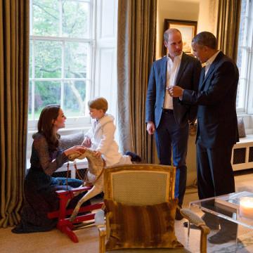Image: President Obama visit to UK