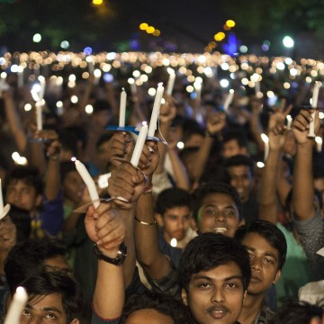 Image: Bangladesh celebrate 45th Independence Day