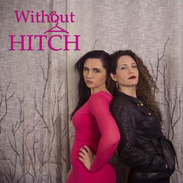 """Poster for """"Without a Hitch,"""" a comedic web series featuring many Latino actors."""