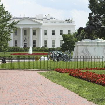 White House Press Briefing Room Evacuated