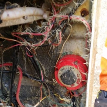IMAGE: Recovered boat's ignition switch