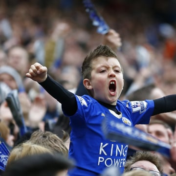 Image: Young Leicester City fan