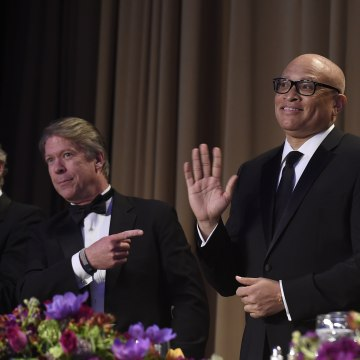 Major Garrett, Michelle Obama, Larry Wilmore