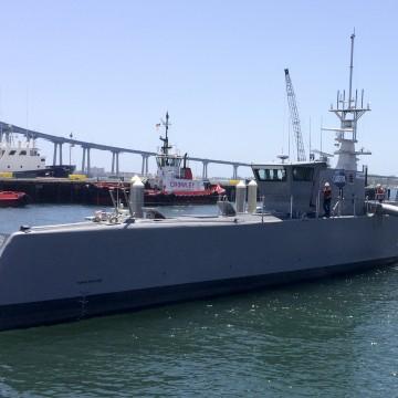 Pentagon Tests Out 'Sea Hunter,' 132-Foot Robot Ship