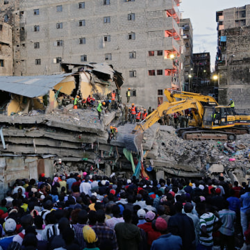 Image: Nairobi collapse