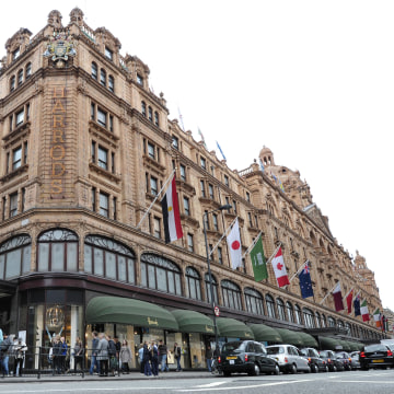 Image: Harrods department store in London
