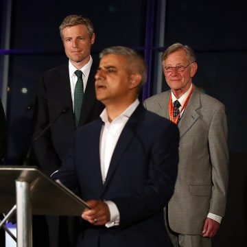 Image: London Mayoral Election Count