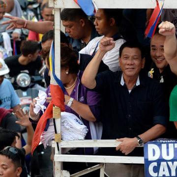 Image: PHILIPPINES-POLITICS-VOTE-DUTERTE
