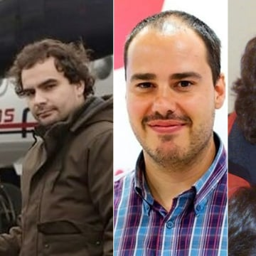 Image: Freed Spanish journalists