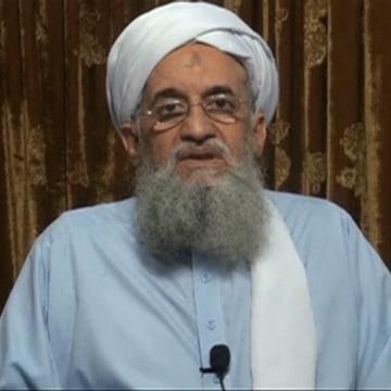 Image: Al Qaeda leader Ayman al-Zawahri