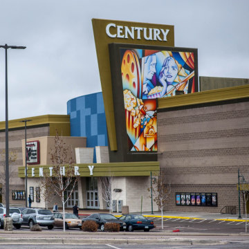 Image: Century Aurora 16 movie theater is pictured in Colorado