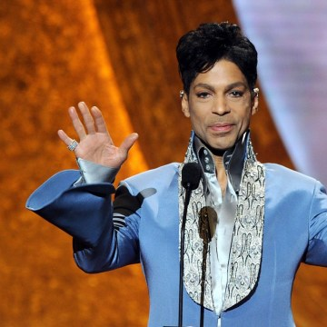 IMAGE: Prince in 2011