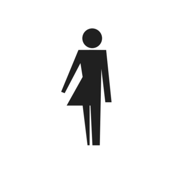 Gender-neutral clothing logo