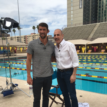 assignment for michael phelps Michael phelps teaches 7-month-old son boomer to swim underwater the kid handled it like a champ by ron dicker when your dad is swimming's goat, you have to trust him in the pool boomer phelps, the nearly 7-month-old son of olympian michael phelps, did a fine job of that in a swim lesson with pop and his childhood teacher.