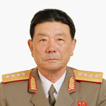 Image: Pak Yong Sik, a member of the Political Bureau of the C. C., the WPK, is pictured in this KCNA handout photo