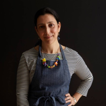 Photo of chef Alexandra Raij.