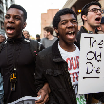 Tensions In Baltimore Continue To Simmer After Days Of Riots And Protests Over Death Of Freddie Gray