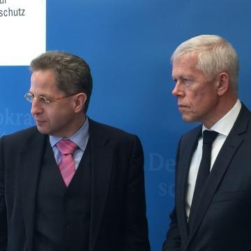 Image: Hans-Georg Maassen and Rob Bertholee