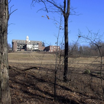 Image: Buildings and property of Burlington College in Burlington, Vt.
