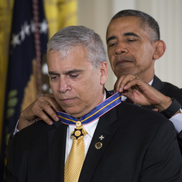 Image: US President Barack Obama hosts Medal of Valor ceremony