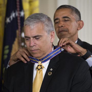 Image: US President Barack Obama hosts Medal of Valor ceremony