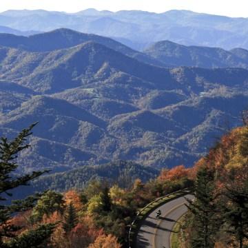 Image: The Blue Ridge Parkway near Asheville, N.C.