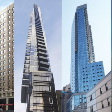 Leyva Architects, PC designed these buildings for New York City.