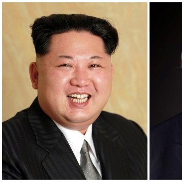 Image: Kim Jong Un and Donald Trump