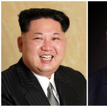 Image: Kim Jong Un and Donald Trump