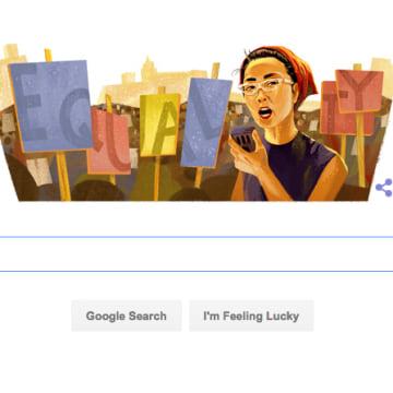 Google Doodle: Yuri Kochiyama