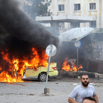 Image: Bombings in Tartus