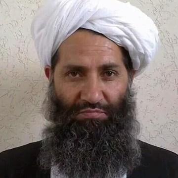 Image: Photo purportedly of Mullah Haibatullah Akhundzada