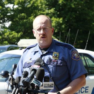 Image: Portland police officer Larry O'Dea