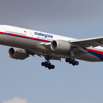 Image: The Malaysia Airlines Boeing 777 that disappeared is seen on Nov. 15, 2013