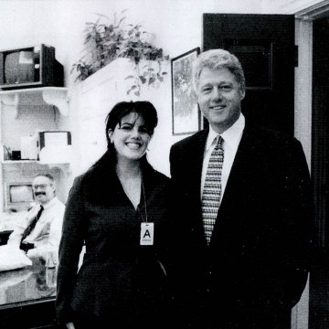 Image: Monica Lewinsky meeting President Bill Clinton