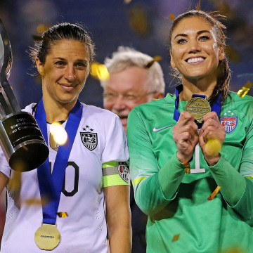 Image: 2016 SheBelieves Cup - United States v Germany