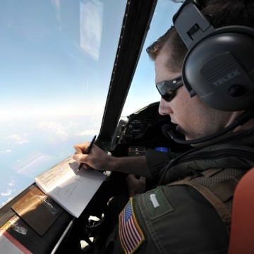 Image: U.S. military search for missing EgyptAir plane